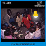 Qualifié 4500mAh/6V Lanterne solaire avec chargeur de téléphone portable avec ampoule de feu solaire pour la chambre