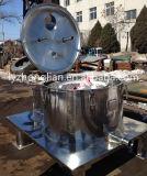 Pd1000 Typ flacher Aufzug-Beutel-grosses Kapazitäts-Korb-Filter-Zentrifuge-Trennzeichen