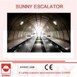 HochleistungsEscalator mit Anti-Slip Grooves und Schraube-Free Inner Plattform, Sn-Es-D035