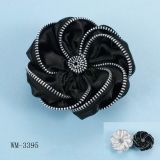Bijoux de mode, broche de fleur, broche en métal (WM-3395)