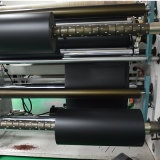 Roulis en plastique noir givré rigide de feuille de PVC de 300 microns pour l'impression d'écran