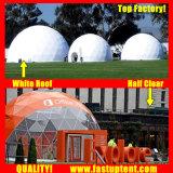 Cupola geodetica di bianco del Buy trasparente libero del PVC