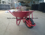 Wb6200-1 Venda Quente Wheelbarrow construção em metal durável