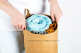 Sac à main / sac à main Kraft lavable Sac à main en papier Kraft réutilisable imperméable et réutilisable