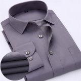 Beiläufiges Mann-Hemd mit Kundenbezogenheits-Baumwollhemd