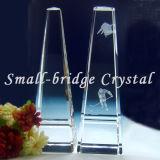 O hóquei no gelo troféu de cristal (JB0062)