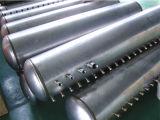 Aquecedor de água solar de aço inoxidável com tubo de vácuo de tubo de calor