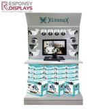 Madera y Metal contador de la placa de orificio Kit de cámara de seguridad Soporte de pantalla para las tiendas