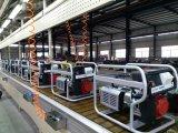 gasolina del generador 8kw con Sitesafe RCD y 4 ruedas grandes neumáticas de X (FC8000SE)