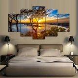 5 el panel HD imprimió la pintura de la pintura del árbol en el cuadro Ym-002 enmarcado lona del cartel de la impresión de la decoración de la lona