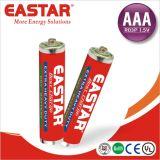 Батарея размера R6 1.5V AA сухой батареи цинка углерода