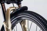 Белый цвет леди стиле Pedelec системы электрический велосипед для женщин