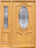 外部の木のドア(KMG02) (固体木のドア)