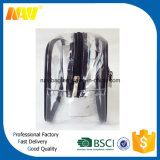 Sac de toilette imperméable PVC transparent