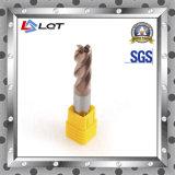 Molino de extremo del carburo sólido / High Precision Machine 4 flauta F183 SMTCL CNC