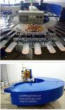 Печатная машина шелковой ширмы PVC изготовления автоматическая