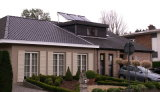 O sistema de colector solar