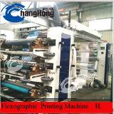 Le chargement automatique de la flexographie plastique d'impression de la machine