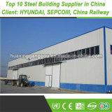 Magazzino prefabbricato della costruzione di memoria della struttura della pagina dell'acciaio per costruzioni edili del metallo industriale prefabbricato di ASTM (200000MT esportatori)