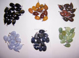 Natürlicher kostbarer Stein-Formkristallcarnelian-reizend Edelstein-Anhänger