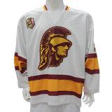 Causerie de fournisseur de contact de sponsored listings maintenant ! Concevoir le hockey sur glace nommé de numéro d'équipe Jersey