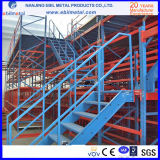 Mezzanine van het staal Rekken/Opslag die de Vloer van het Staal van Lagen 2-3 rekken