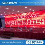 Tabellone per le affissioni dell'interno leggero dell'affitto LED di alta luminosità P5 per la fase