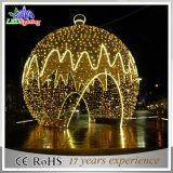 China LED Fabricante Natal luz decorativa da esfera gigante no exterior