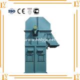 Línea de transformación del grano elevador de compartimiento del uso que transporta la máquina