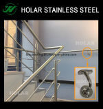 壁の304ステンレス鋼の手すりブラケットの付属品