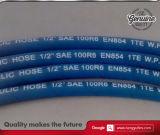 Boyau en caoutchouc 1te synthétique de SAE 100 R6/DIN 854 avec la tresse de textile
