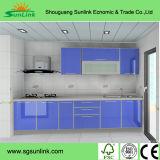 台所家具の部品PVCフィルムMDFの食器棚のドア(yg-015)