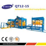 O Qt12-15 Cor concreto Espalhadoras Lancis de tijolo bloco fazendo a máquina