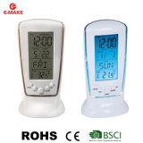 Замороженные индикатор цифровой регистрации будильник электронные Смотреть календарь термометр