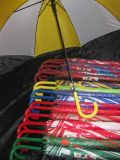 USD 1.00, verkaufen an Hand, Qualitäts-Automobil. Regenschirm öffnen