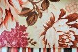Tela del poliester, tela de la impresión de la flor
