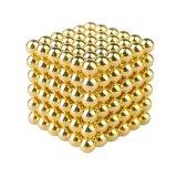 Fuertes Rare Earth Neo bola magnética bolas magnéticas de oro