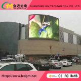 Visualización de LED a todo color al aire libre de HD con la publicidad del módulo P10