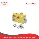 Control de seguridad en la noche el pestillo de bloqueo de la llanta de la puerta con doble cilindro desde China Proveedor