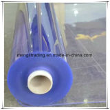 Cortina plegable del PVC del claro sólido
