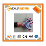 Провод сердечника 2.5mm экрана 3 спирали изоляции PVC гибкий