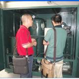 Doppia macchina di depurazione di olio del trasformatore di alto vuoto della fase