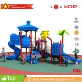 工場価格の熱い販売の幼稚園の子供の屋外の運動場のプラスチックスライド