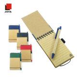 Тетрадь бумаги желтого цвета вкладыша новых подарков промотирования цветастая спиральн