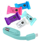 Красочные 20см конфеты USB кабель для зарядки iPhone Android