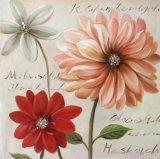 Великолепные цветочные картины - Репродукции картин на стене