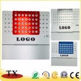 Calendrier multifonctionnel personnalisé en métal de logo de taille