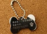 Nuevo diseño de moda imprimir nombre dog tag con la costumbre