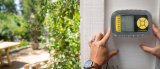 Solarladung-wasserdichtes Wasser-System des Bewässerung-Timer-Magnetventil-Sprengers