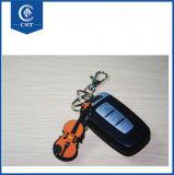 De hete Sleutelring van Keychain Keyholder van de Piano van pvc van de Verkoop